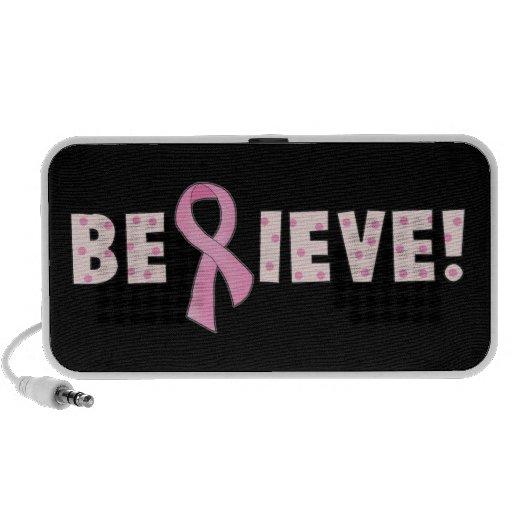 Acredite (cancro da mama) o auto-falante portátil caixinha de som para mini