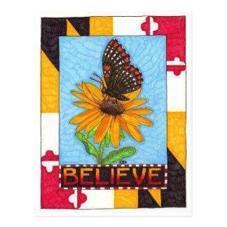 Acredite o cartão inspirado