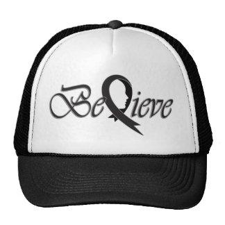 """Acredite o """"chapéu negro """" boné"""