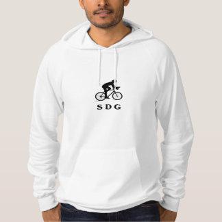 Acrônimo SDG do ciclismo de San Diego Califórnia Moletom