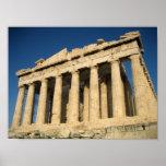 Acrópole do Partenon em Atenas Pôsteres