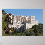 Acrópole do poster de Atenas