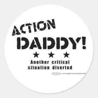 ActionDaddy!: Uma outra situação crítica desviada Adesivo