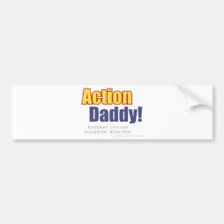 ActionDaddy!: Uma outra situação crítica desviada Adesivo Para Carro