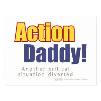 ActionDaddy!: Uma outra situação crítica desviada Cartão Postal