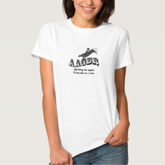 Activista animal equitação ida de Bull! Camiseta