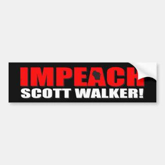 Acuse o caminhante de Scott Adesivo Para Carro