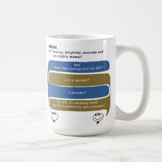 adam caneca de café