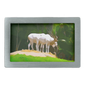 Addax do safari