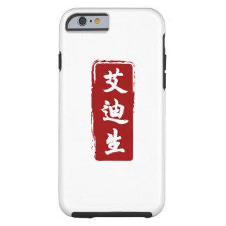 Addison traduziu aos Glyphs chineses bonitos Capa Tough Para iPhone 6