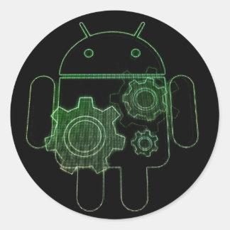 Adesivo android art play