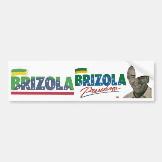Adesivo Brizola Presidente 1989