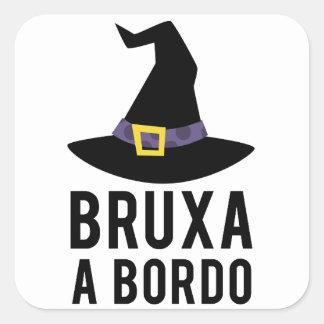 Adesivo Bruxa a Bordo