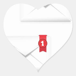 Adesivo Coração 91Mailbox Icon_rasterized alerta