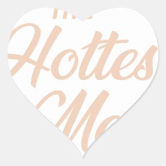 Adesivo Coração A confusão a mais quente