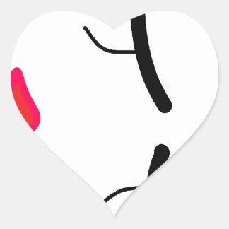 Adesivo Coração a outra coleção da Bela Adormecida