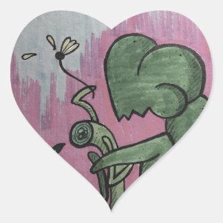Adesivo Coração A preferencialmente seja sua vítima do que seja