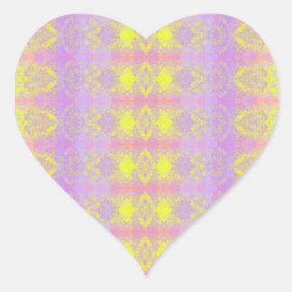 Adesivo Coração abstraído