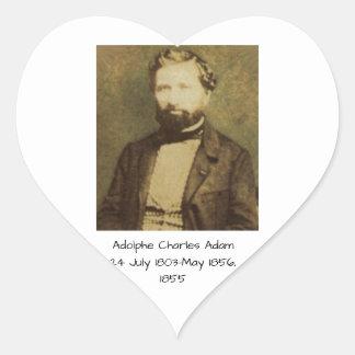 Adesivo Coração Adolfo Charles Adam, 1855