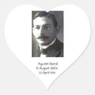 Adesivo Coração Agustin Bardi