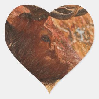 Adesivo Coração Alces de Bull