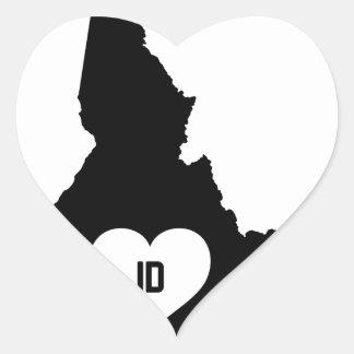 Adesivo Coração Amor de Idaho
