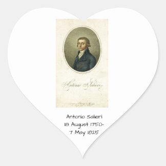 Adesivo Coração Antonio Salieri