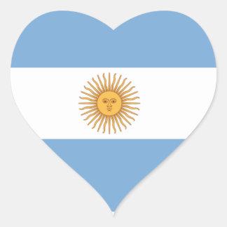 Adesivo Coração Argentina