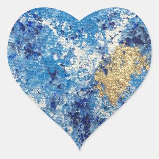 Adesivo Coração Arte por Cleopatra