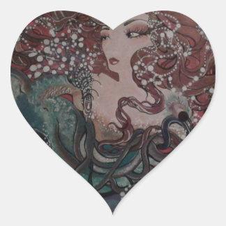Adesivo Coração Asas de VeronicaWeaverakaVons do destino