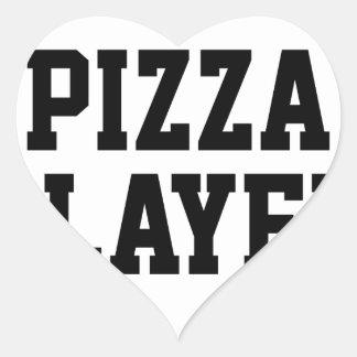 Adesivo Coração Assassino da pizza