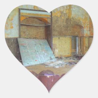 Adesivo Coração Auditório 01,0, lugares perdidos, Beelitz