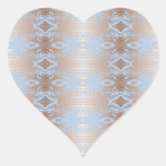 Adesivo Coração azul