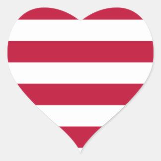 Adesivo Coração Baixo custo! Bandeira de Liberia