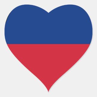 Adesivo Coração Baixo custo! Bandeira de Liechtenstein