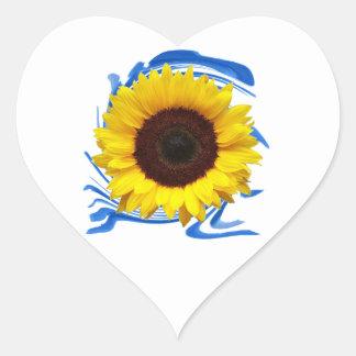 Adesivo Coração benevolência das Sun-luzes