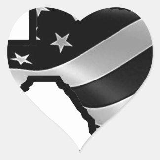Adesivo Coração Bk rd.gif branco do design de Harvey