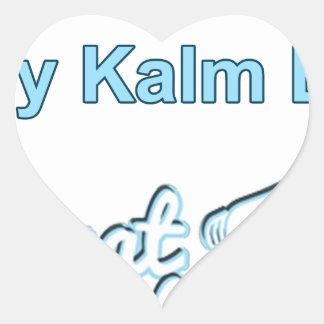 Adesivo Coração Bly-Kalm-En-Praat-Holandês sul-africano