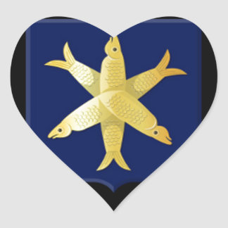 Adesivo Coração Brasão de Zandvoort