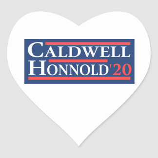Adesivo Coração Caldwell Honnold 2020