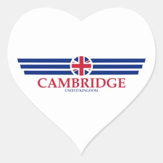 Adesivo Coração Cambridge