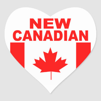 ADESIVO CORAÇÃO CANADENSE NOVO