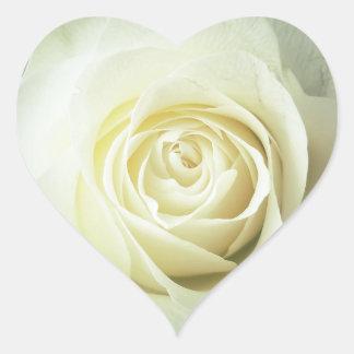 Adesivo Coração Caneca do rosa branco