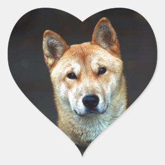 Adesivo Coração cão