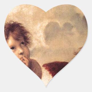 Adesivo Coração Cherubim - Raphael