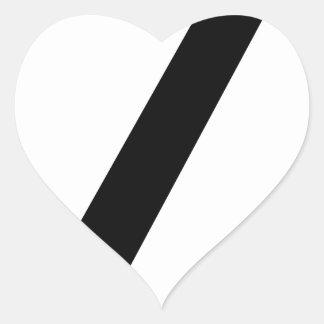 Adesivo Coração Codifique a ruptura
