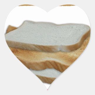 Adesivo Coração Comida do homem de Tony Fernandes - sanduíche do