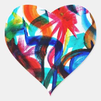 Adesivo Coração Complicado