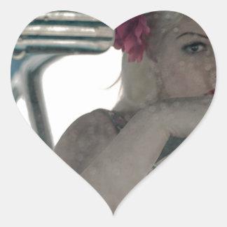 Adesivo Coração Conduzindo Doris