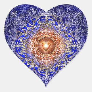 Adesivo Coração Constelação do coração H011